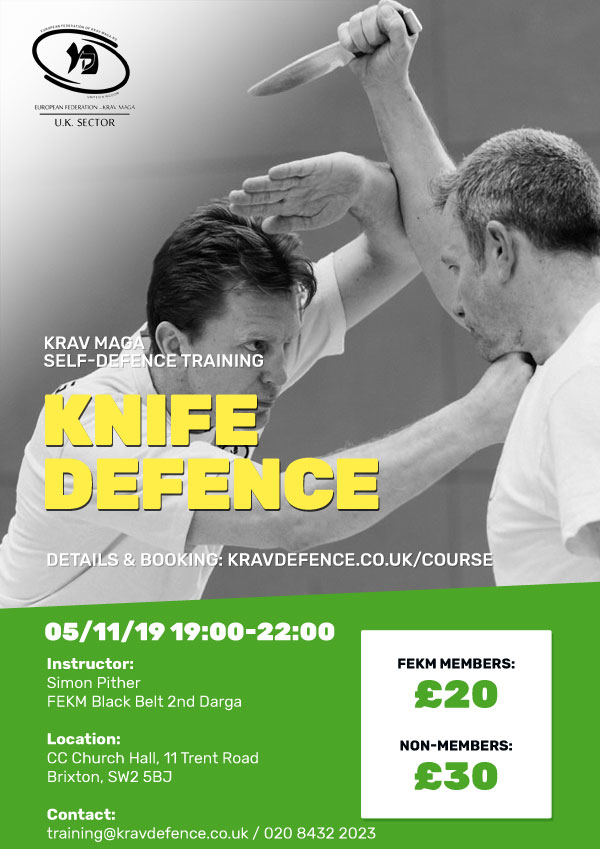 Knife Defence Course