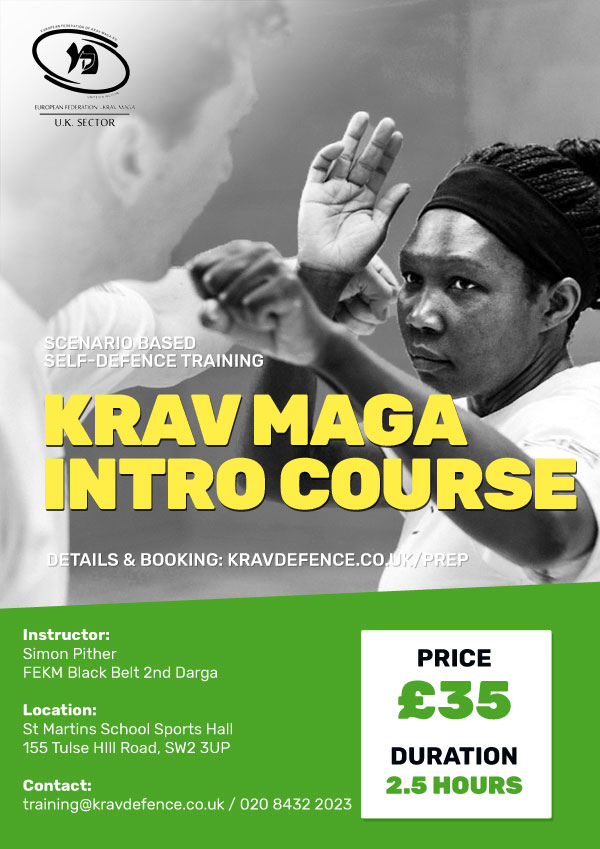Krav Maga Intro Course - Price £35